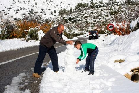 Sneeuwpop-Tollos