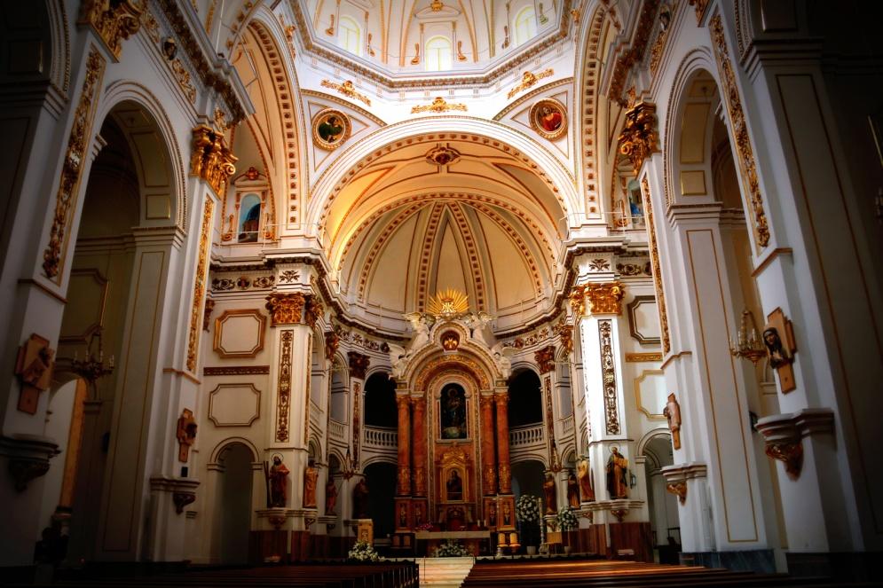 Altea-kerk-binnen