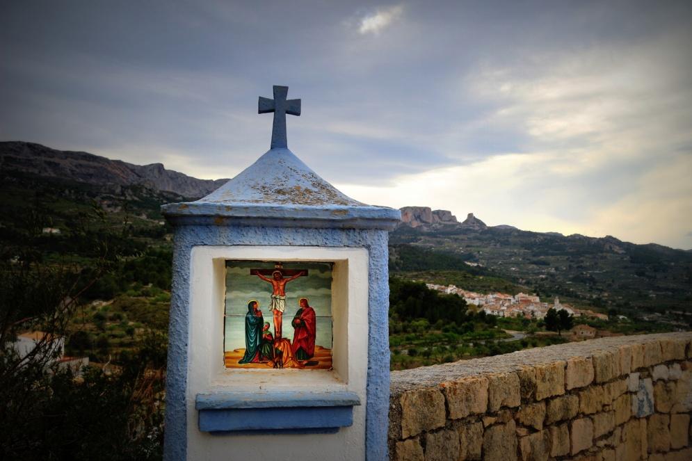 Guadalest-kruisweg