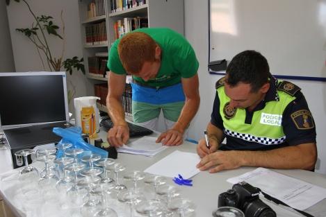Marcos-en-politie