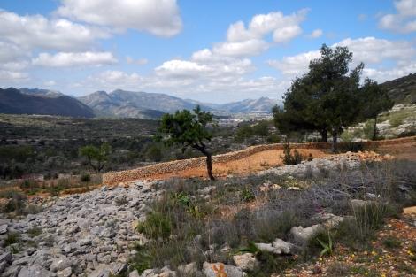 Gezicht op Vall de Pop