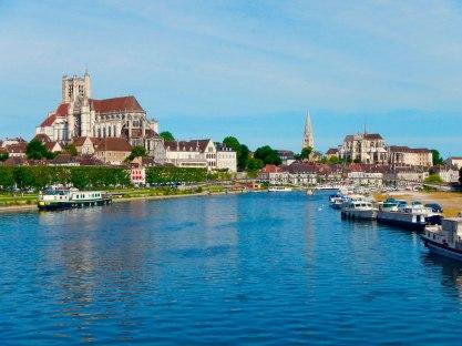 Auxerre vanaf Pont Paul Bert