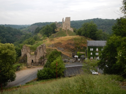 Kasteel ruïne bij Crozant