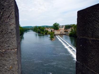 Vanaf de Pont Valentré