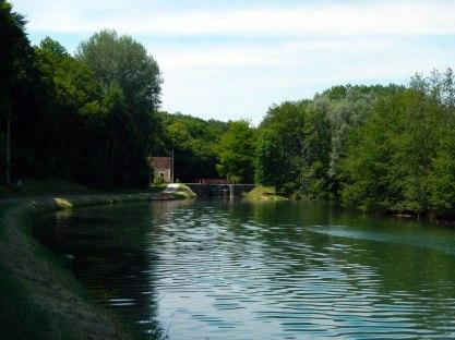 Lekker fietsen langs het kanaal