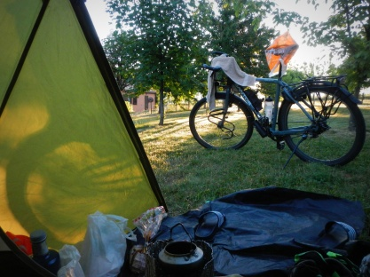 Zon in de tent!