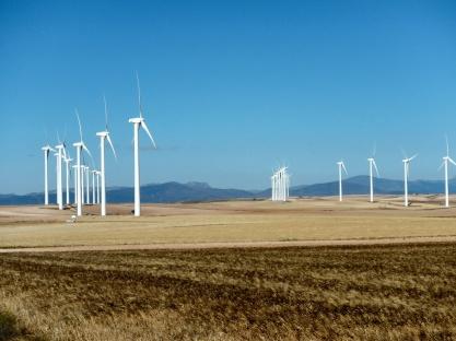 Veel windmolens