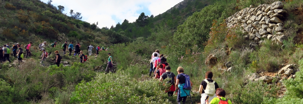Vluchtenlingenwandeling