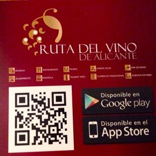 qr code ruta del vino
